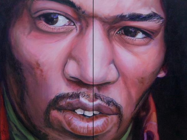 Jimi Hendrix by DavidVigor